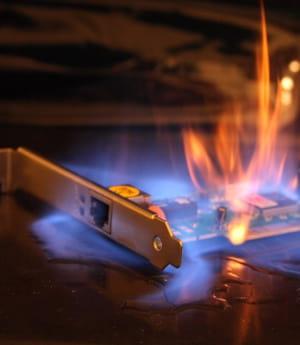 les métamatériaux constituent une cape thermique qui protège les composants