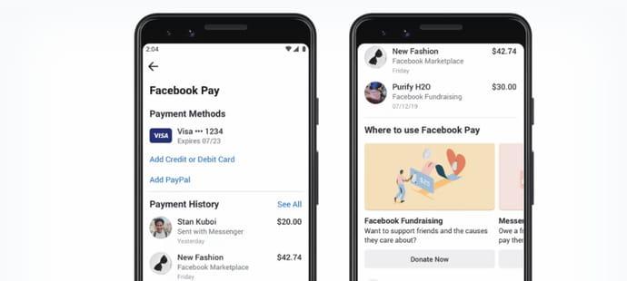 Facebook Pay: comment l'utiliser, lancement en France, lien avec libra