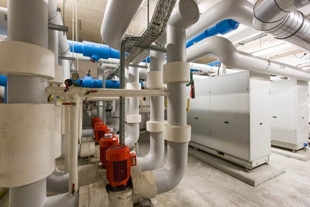 L'unité de production d'eau glacée