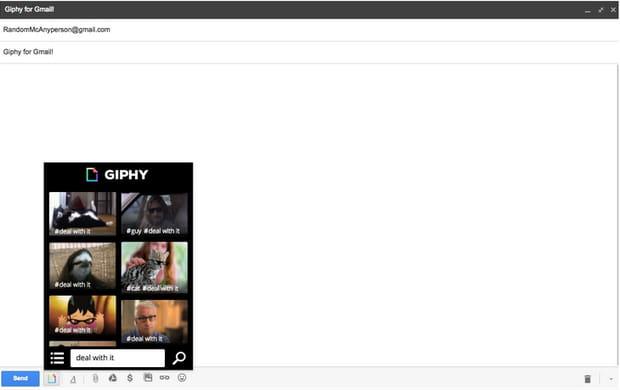 Giphy intègre la magie des GIFs à vos e-mails.