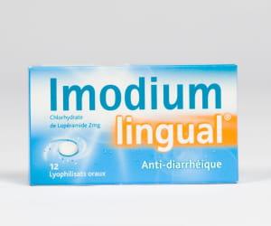 imodium caps, boîte de 12gélules.