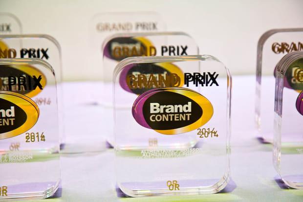 Les lauréats du Grand Prix du Brand Content 2014sont...
