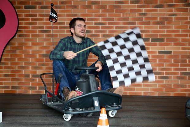 Le kart à l'honneur