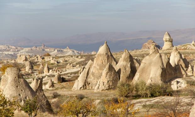 Cappadoce (Turquie): minérale