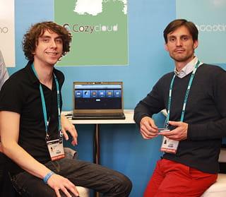 benjamin andré et frank rousseau, les fondateurs de cozy cloud.