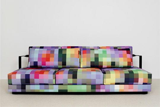 Pixel Art: les pixels gagnent l'art, la décoration et l'architecture