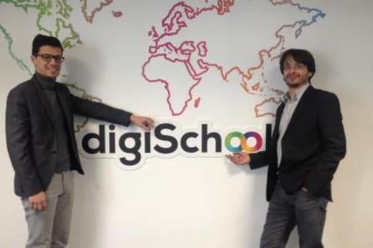 Confidentiel: Digischool lance une appli pour faire les devoirs des élèves