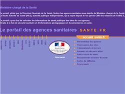 le site de sante.fr