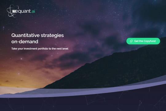 Le robo-advisor WeSave crée WeQuant pour lancer son activité BtoBtoC
