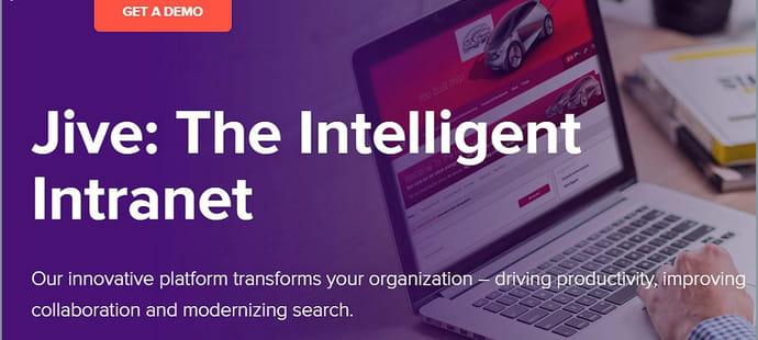 Jive (Software): pure player historique du réseau social d'entreprise