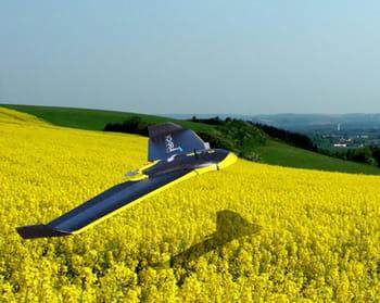 le drone agriculteur.