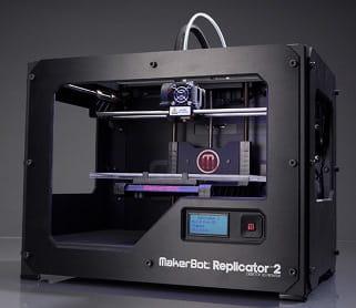une imprimante 3d du fabricant américain makerbot
