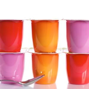 le prix des yaourts en grande distribution a diminué de 2,22% entre novembre