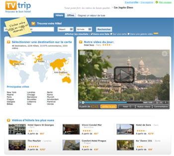 tvtrip propose 4.300 vidéos d'hôtels du monde.