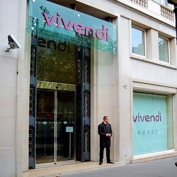 le siège de vivendi, à l'etoile, à paris.