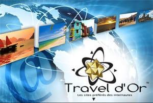 les travel d'or 2011 ont récompensé douze sites dans autant de catégories.
