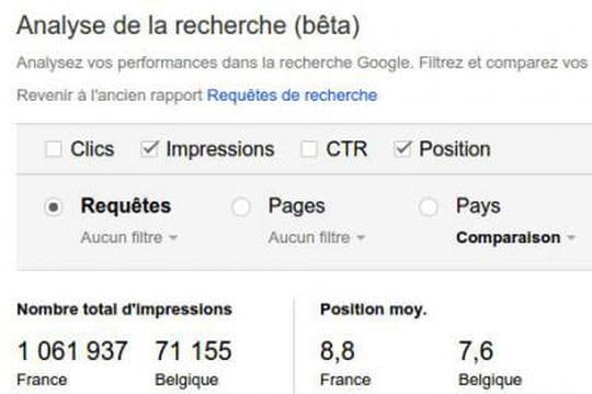 Le rapport phare de Google Webmaster Tools fait peau neuve