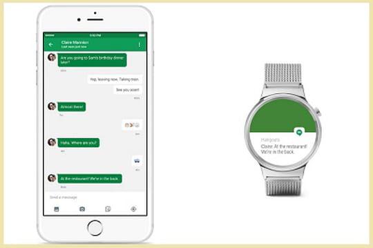 iPhone et montres Android Wear sont désormais compatibles