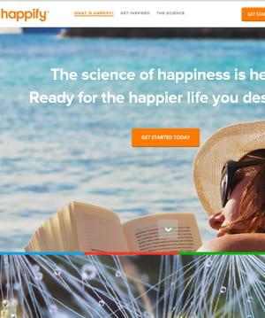 happify a déjà levé 6,5millions de dollars.