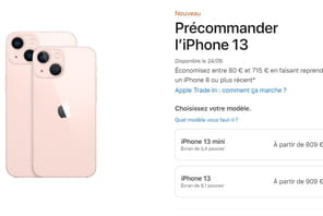 iPhone 13: les précommandes du nouvel iPhone ont débuté