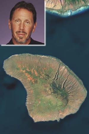 larry ellison, le fondateur d'oracle, s'est offert une île hawaïenne pour en