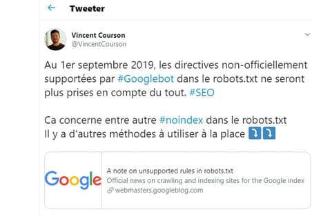 Robots.txt: les référenceurs divisés sur la disparition du noindex