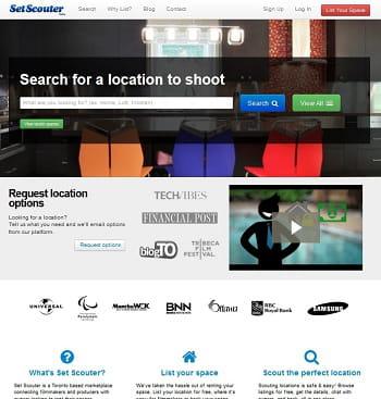 set scouter, l'airbnb des lieux de tournage