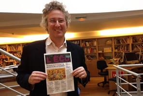 """François Dufour (Mon quotidien): """"99% de nos lecteurs ne veulent pas lire leur journal sur le numérique"""""""