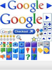 exemple de sprites utilisés sur google. au lieu de charger une quarantaine