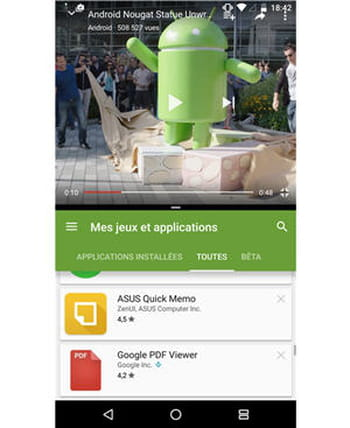 Un mode multi fen tre qui va faciliter le multi t che for Multi fenetre android