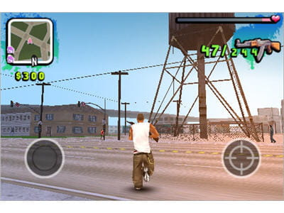un gta like sur iphone