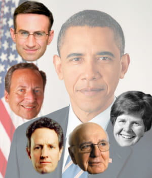 l'équipe choc de barack obama pour relever l'économie américaine