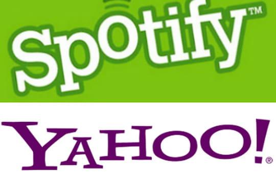 Yahoo intègre le catalogue de Spotify à son portail