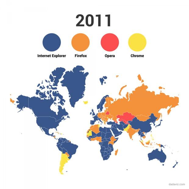 2011 : Chrome entre en scène