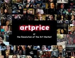 artprice, spécialisé dans l'information sur le marché de l'art.