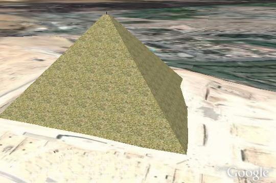 Au pied des pyramides