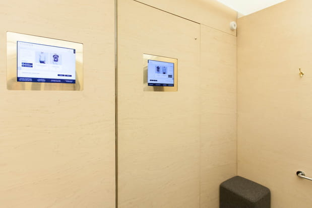 Une cabine interactive
