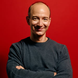 jeff bezos, patron d'amazon.