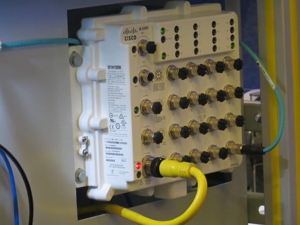 Le nouveau switch de Cisco qui veut révolutionner la robotique