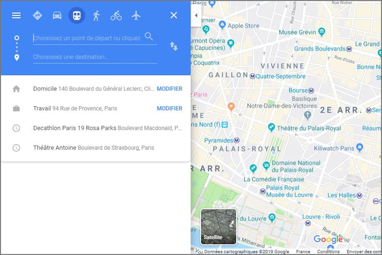 Que faire si Google Maps affiche For development purposes only