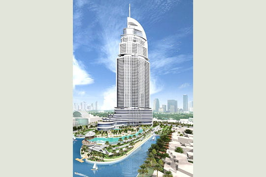 Burj Dubai Lake Hotel