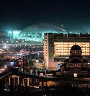 la ville russe de sotchi, où se dérouleront des jeux olympiques sous haute