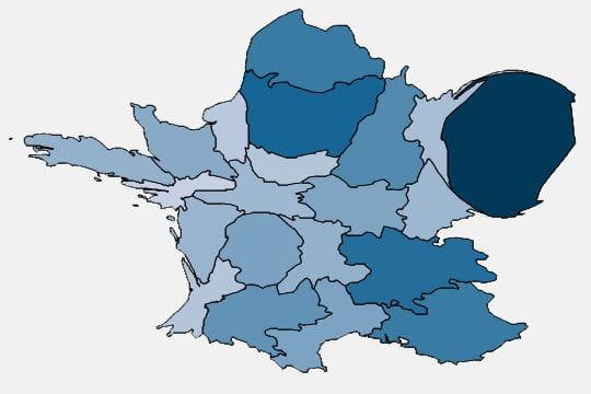 Produit régional de la taxe foncière bâtie