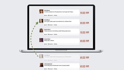le 'story bump' expliqué par facebook : c'est un critère qui permet de donner