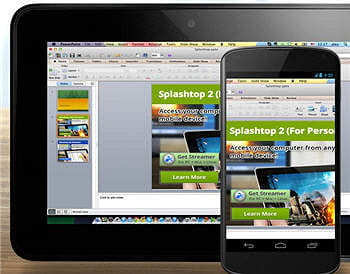 la solution splashtop 2 remote desktop