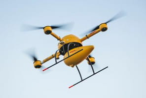 DHL lance son drone Parcelcopter enAllemagne