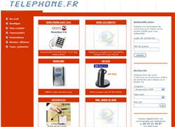 le site de telephone.fr