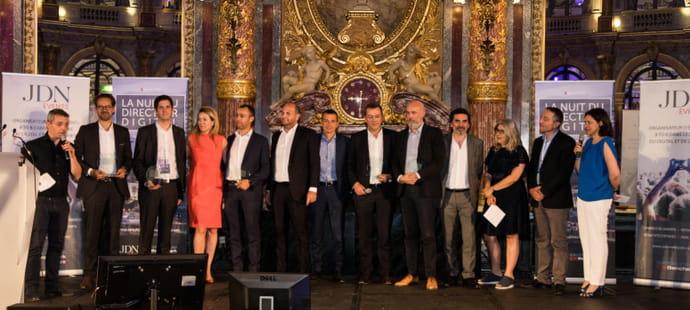 Les gagnants de La Nuit du Directeur Digital 2019sont...