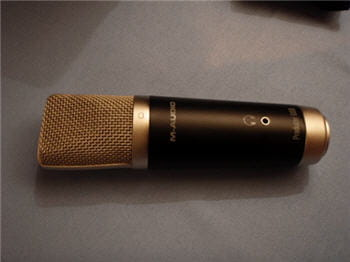 un microphone de qualité pour enregistrer des sons sur ordinateur.