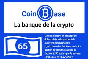 Infographie: Coinbase, la plateforme qui a démocratisé la cryptomonnaie